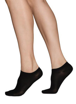 Ladies sneaker sock black