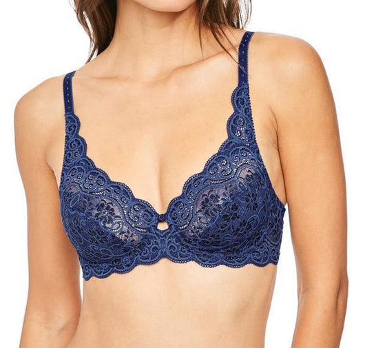 Scalloped lace full cup