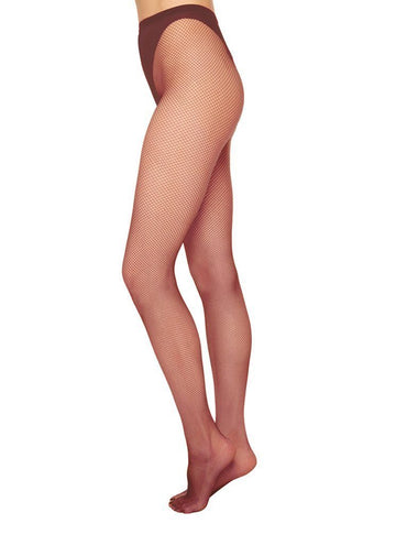 Liv net tights [Red] - The Pantry Underwear