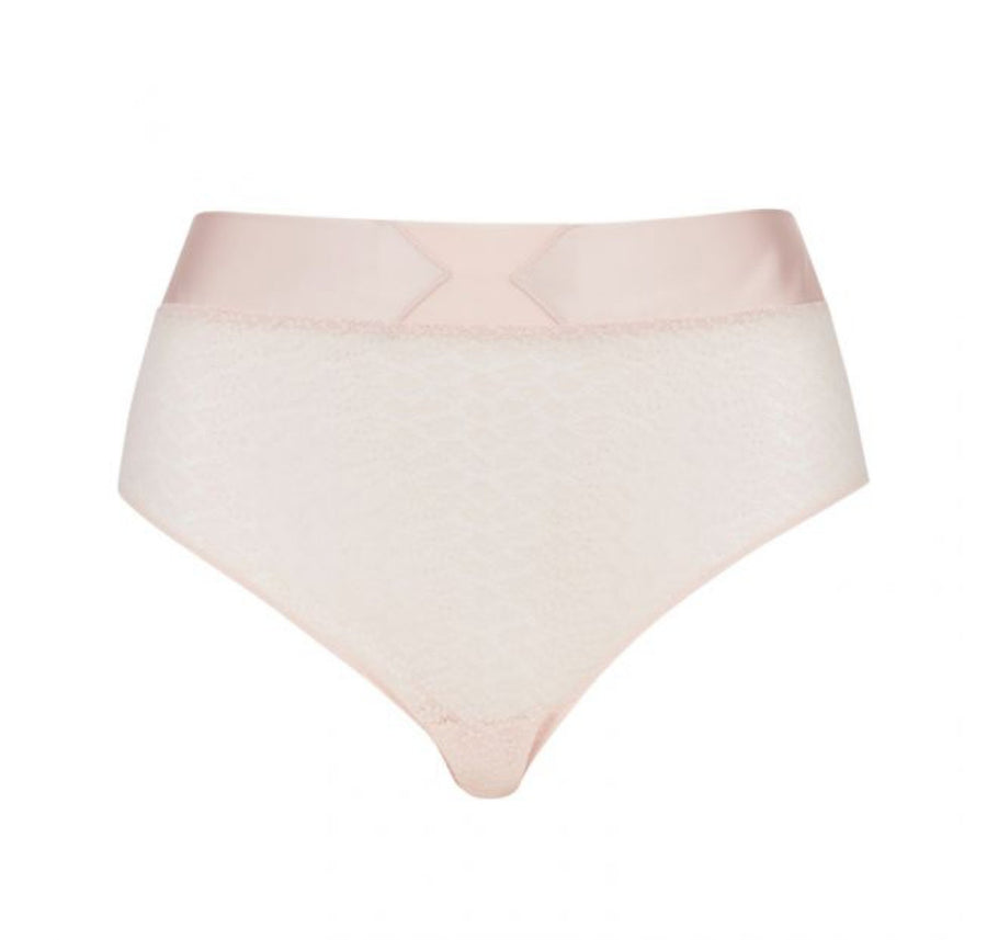 Ribbon banded deep brief [Pantry pink] Bottoms Implicite extra-small