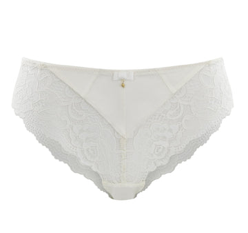 Lace detail brazilian [Ivory]