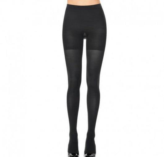 Opaque control tight [Black] - The Pantry Underwear