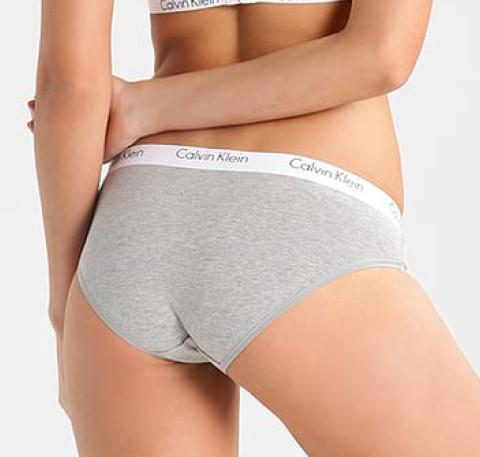 Cotton branded brief 2 pack [Grey] - The Pantry Underwear