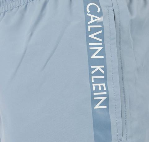 Logo tape swim short [Blue] For him Calvin Klein