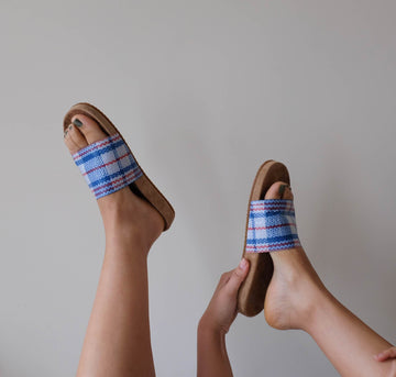 Suede sole slides [Market Bag] Accessories E8 by Miista