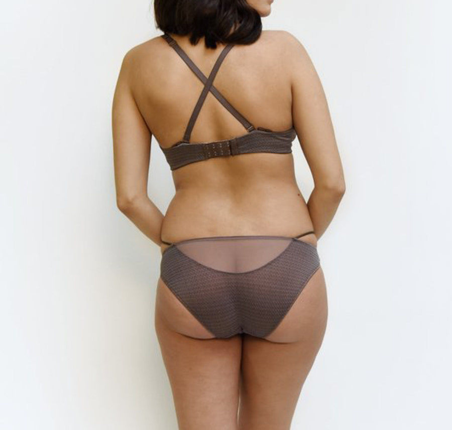 Everyday soft wire bra [Taupe] - The Pantry Underwear