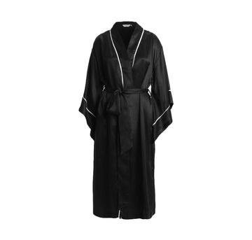 silk dressing gown