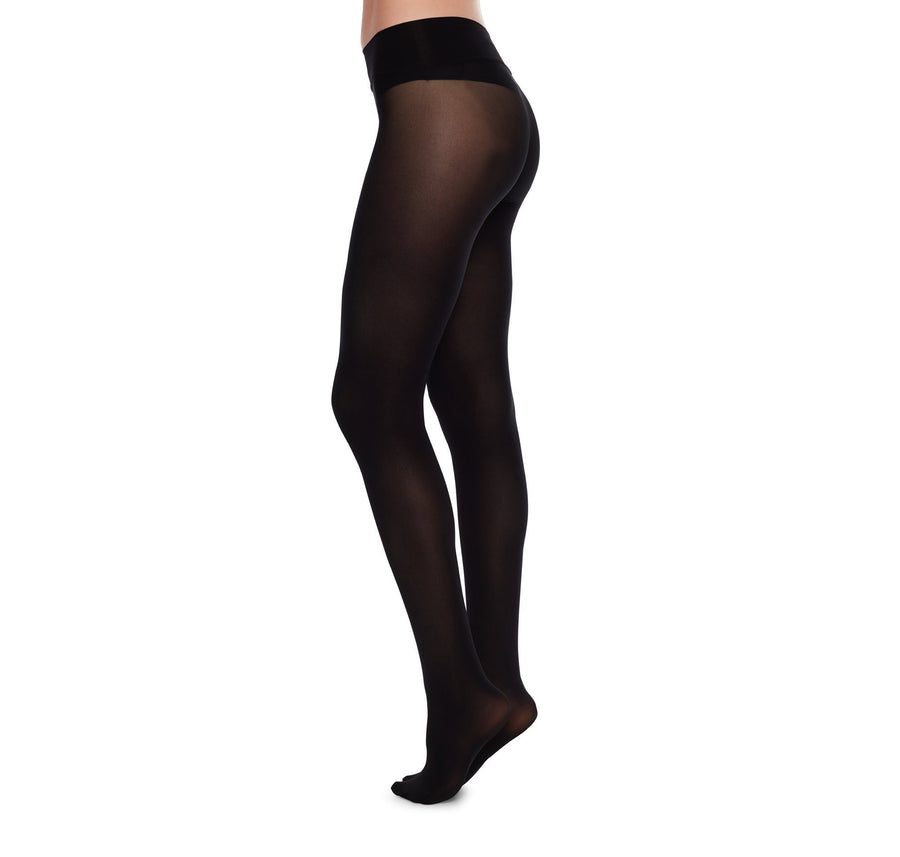 Hanna premium seamless 40 den [Black] Accessories Swedish Stockings extra-small