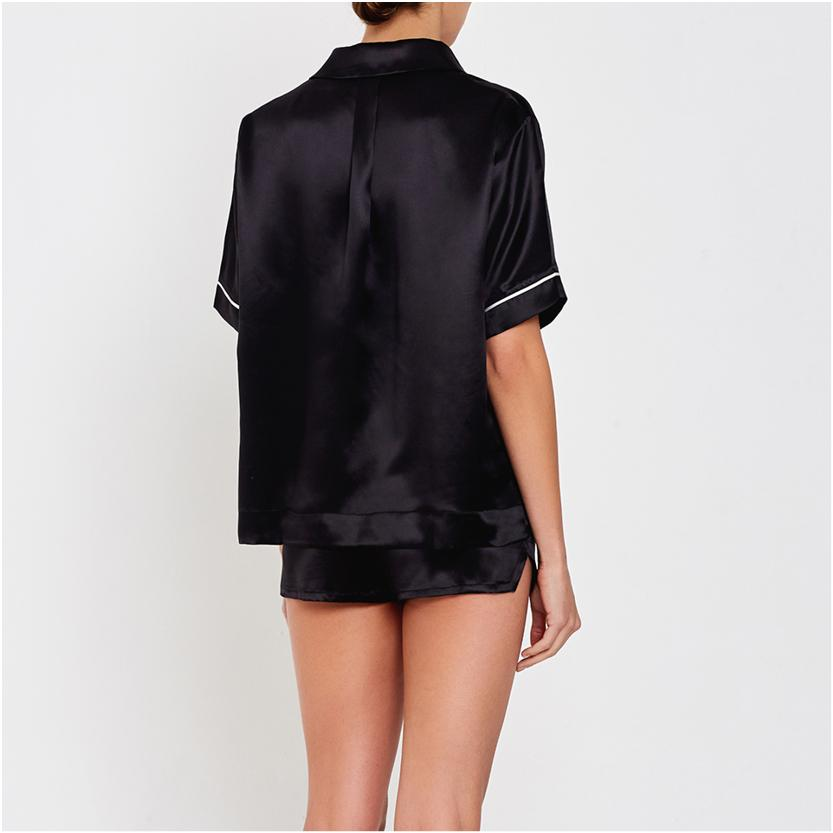 Hesper Fox silk night-shirt