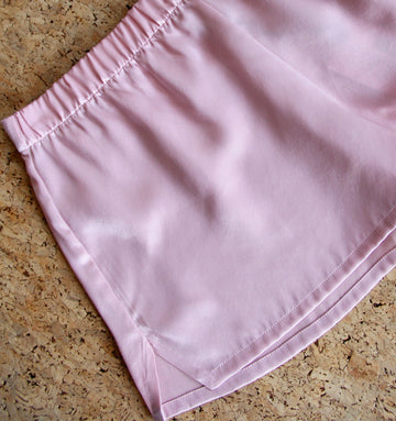Silk shorts [Pantry Pink]