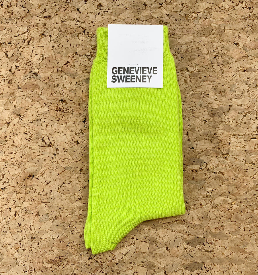 Modern cotton sock [Kiwi Green]