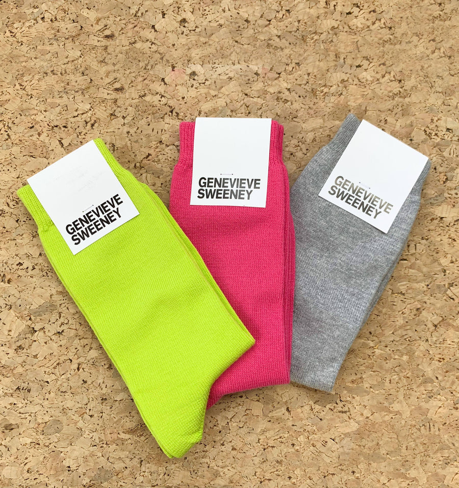 Modern cotton sock [Grey Marl]