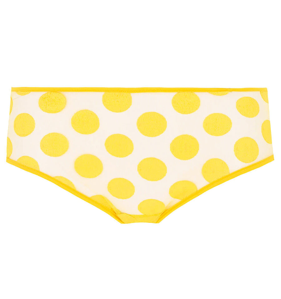 Spot detail shorty [Yellow] Bottoms Implicite