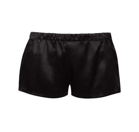 Silk shorts [Black] Sleep Hesper Fox extra-small