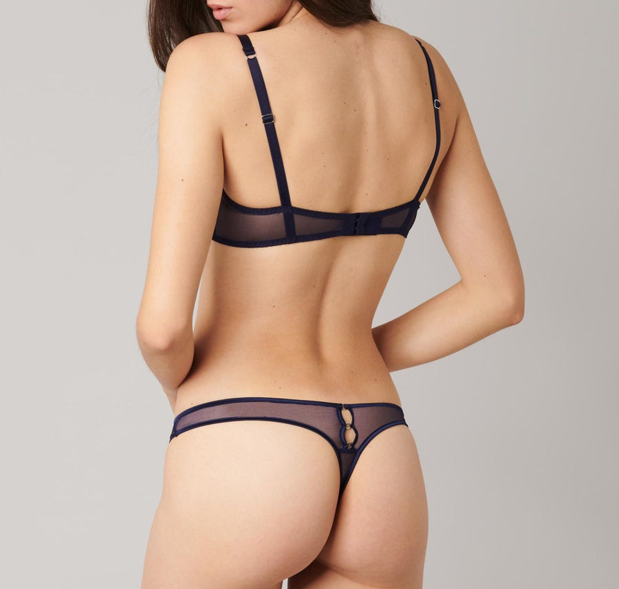Navy underwear set