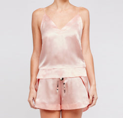 Hesper Fox Pale pink silk cami