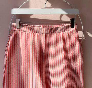 Cropped Trouser [Red Candy]