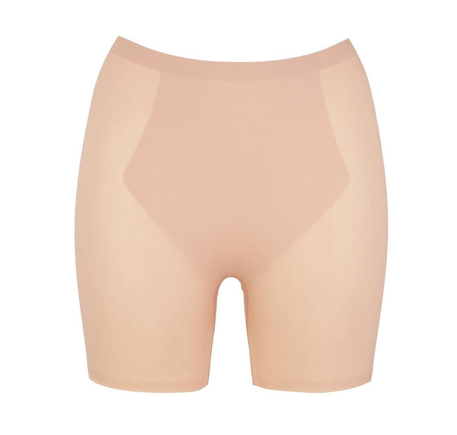 Microfibre invisible control girlshort [Beige] - The Pantry Underwear