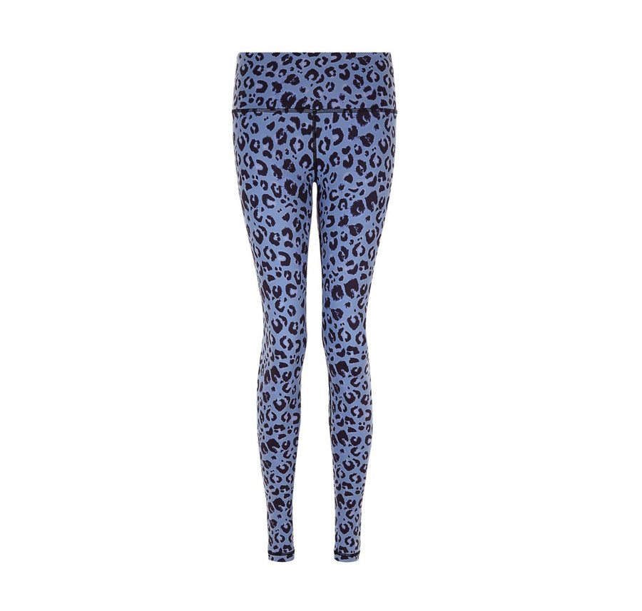 Slate Leopard Legging - The Pantry Underwear