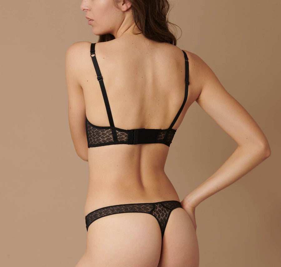 black underwear sets