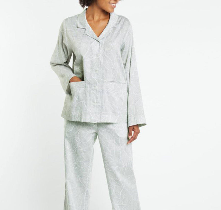 Classic cotton pyjamas [Palm] - The Pantry Underwear