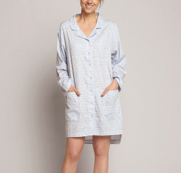 Love Birds cotton nightshirt