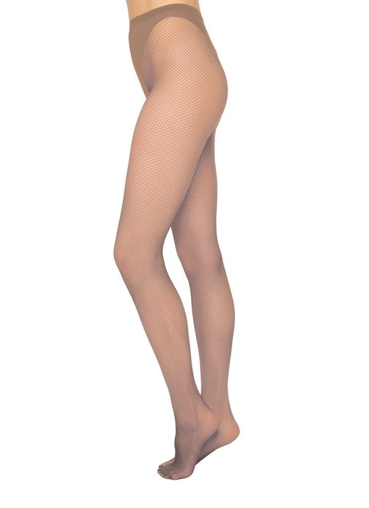 Liv net tights [Beige] - The Pantry Underwear