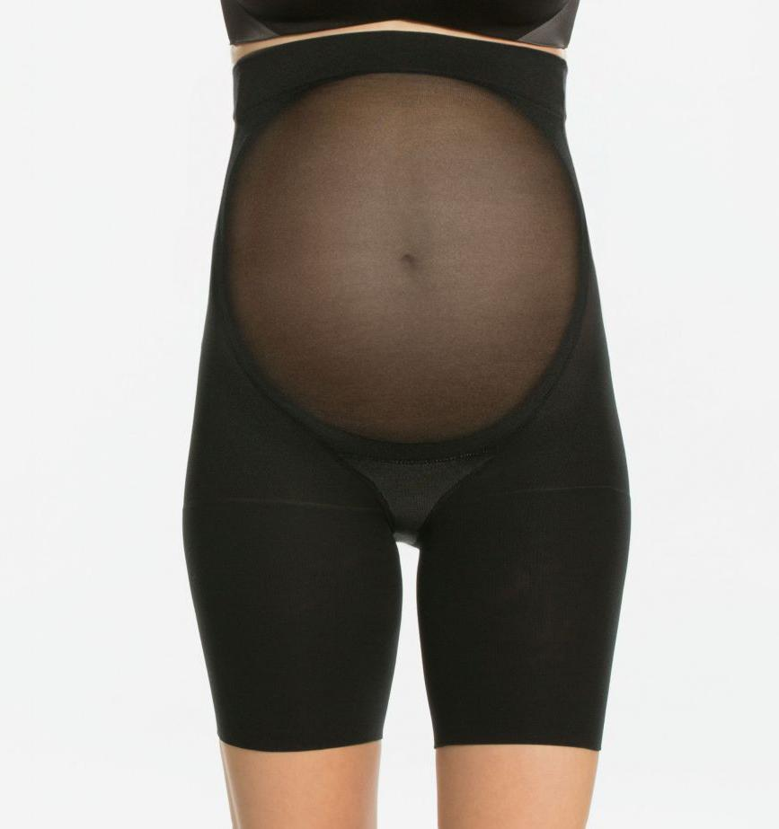Maternity shaping shorts [Black] Maternity Spanx extra-small