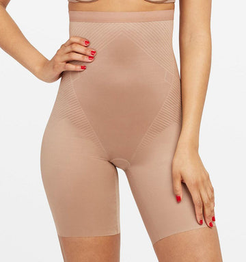 High invisible control short [Cafe au Lait] Shape Spanx extra-small