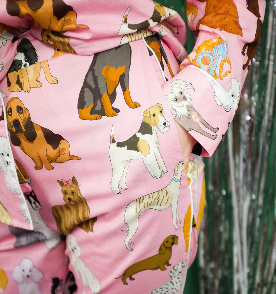 Crufts cotton pyjamas Sleep Karen Mabon