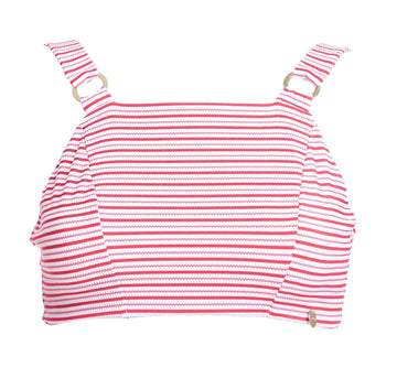 Ring-side bikini top [Red Candy] Swim Lilliput & Felix extra-small
