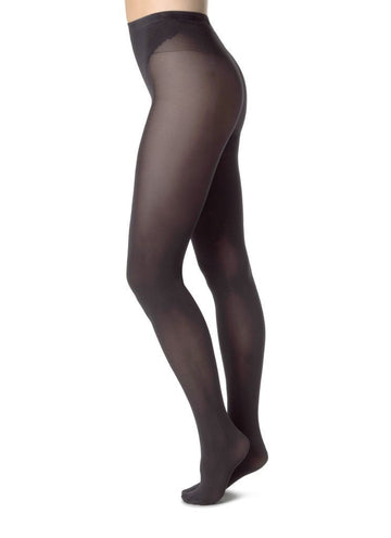 Elin tights 20 den [Black] - The Pantry Underwear