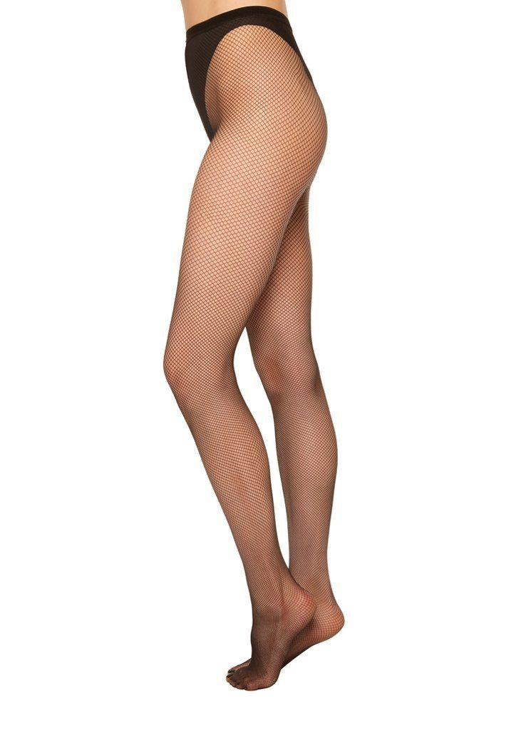 Liv net tights [Black] Accessories Swedish Stockings medium