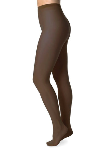 Elin tights 20 den [Dark Beige] Accessories Swedish Stockings small