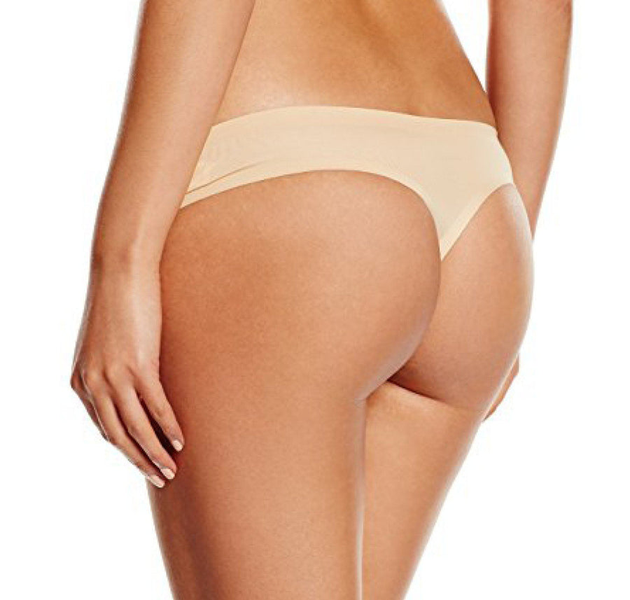 Microfibre thong [Beige] - The Pantry Underwear
