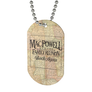 Back Again - Dog Tag