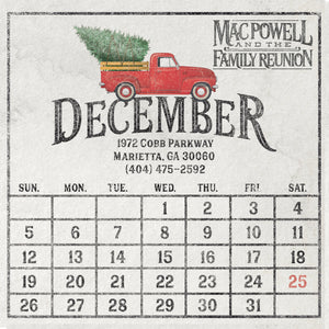 Mac Powell December Album Cover