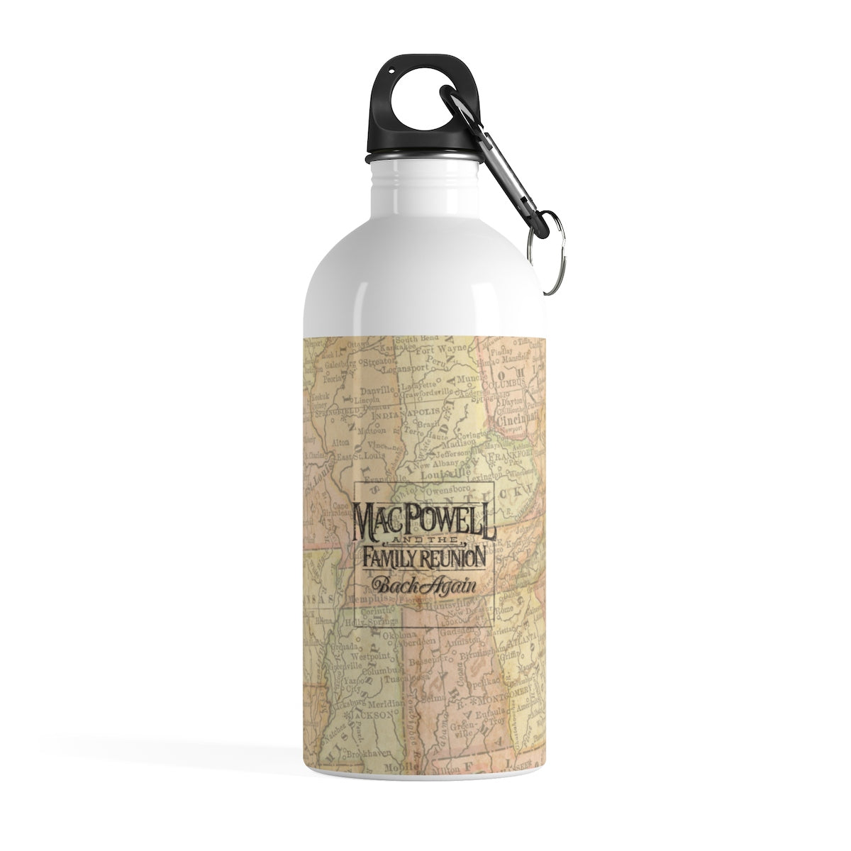 Back Again - Stainless Steel Water Bottle