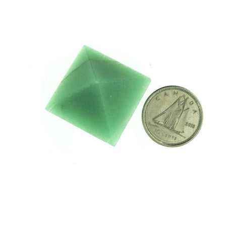 Green Aventurine Pyramid Gemstone