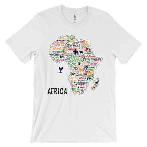 Africa Typography Shirt