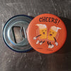 Cheers!  Magnet with Bottle Opener