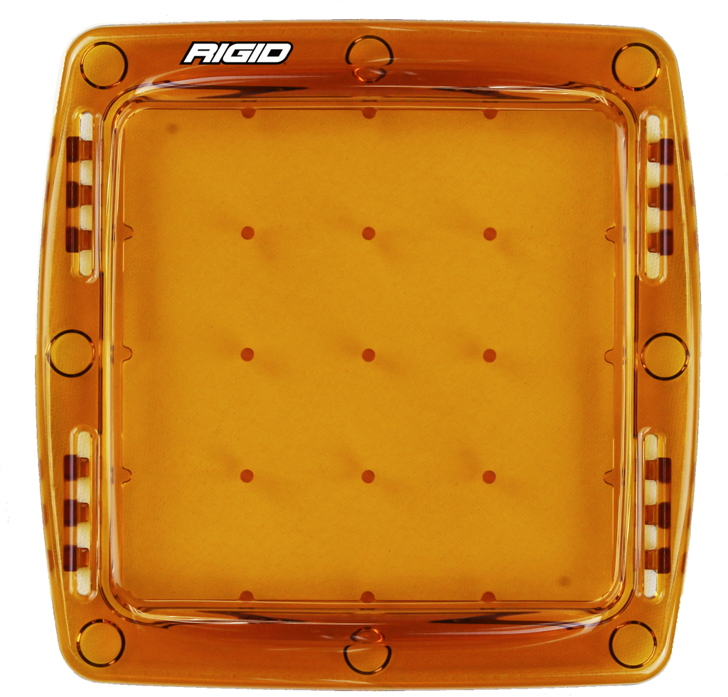 RIGID Industries Q-Series Pro LED Light Cover - Amber
