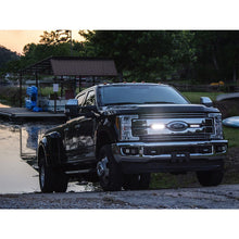 Load image into Gallery viewer, 2017-2018 Ford Super Duty featuring  RIGID Stealth Grille Kit 6 Inch SR-Series