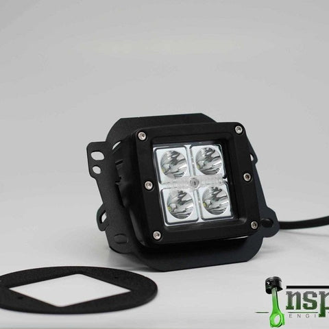 JK Wrangler OEM Fog Light Brackets