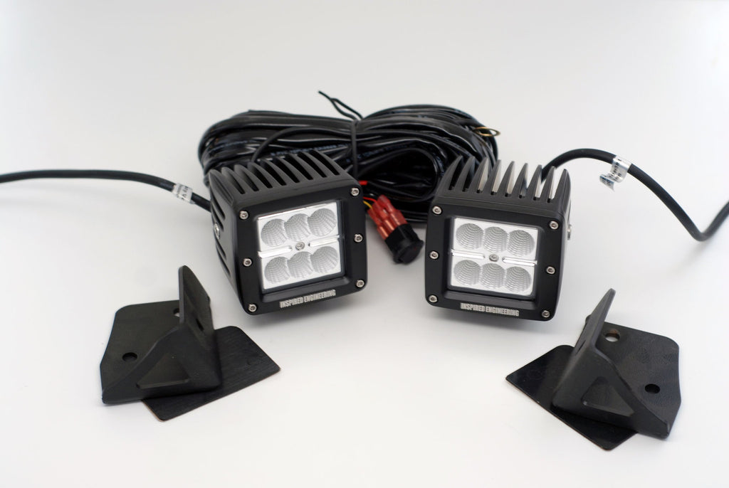 Jeep JK CUBE A Pillar Kit  with hardware