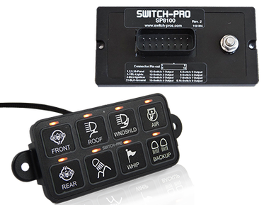 Switch Pros SP-9100 8-Switch Power Panel System