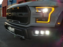 Load image into Gallery viewer, Ford Raptor, Fog Light Pocket Kit, Lights On