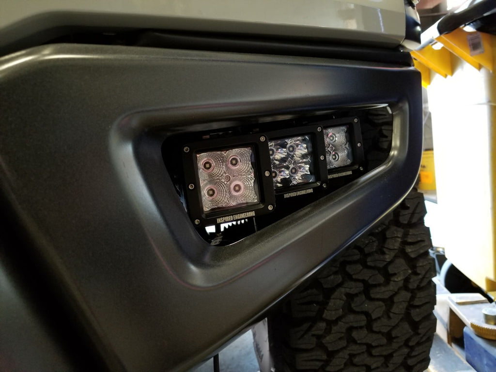 Ford Raptor, Fog Light Pocket Kit