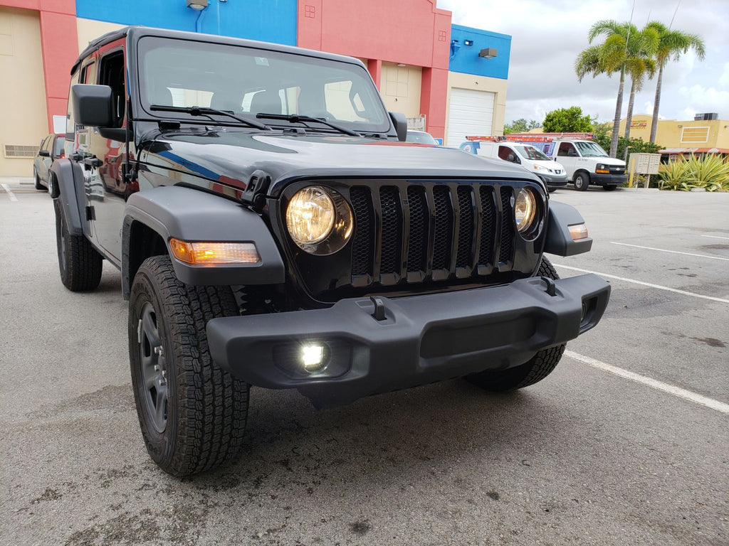 2018-Current Jeep Wrangler JL/ JT Gladiator CUBE Fog Light Replacement Kit