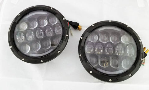 "Light Worx EVO II 7"" Round LED Headlights (DOT Approved)"